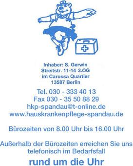 Bild 1 Hauskrankenpflege Spandau, Inh. S. Gerwin in Berlin