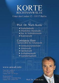 Bild 1 Advocatur Prof. Niels Korte in Berlin
