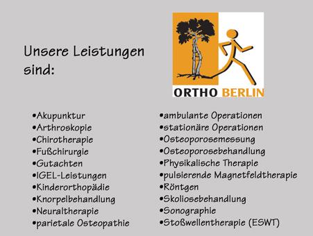Bild 2 Meyer, Jens-Uwe, Dr. med. und Pankow, Matthias - Ortho Berlin in Berlin