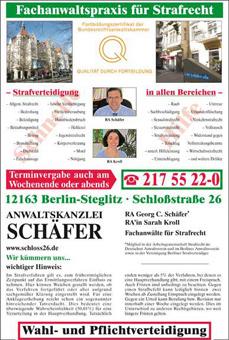 Bild 1 Anwaltskanzlei Sch�fer in Berlin