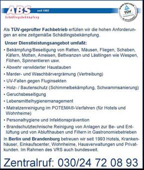 Bild 1 ABS Sch�dlingsbek�mpfung in Berlin