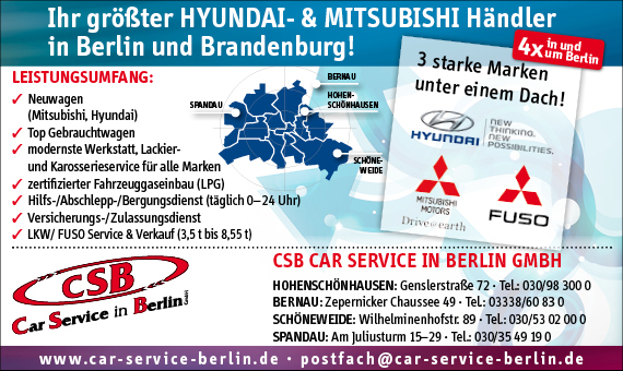 Bild 1 CSB Car Service in Berlin GmbH in Berlin