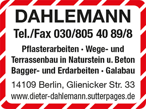Bild 1 Dahlemann in Berlin