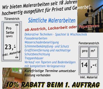 Bild 1 K�merow, Stefan - Malermeister in Berlin