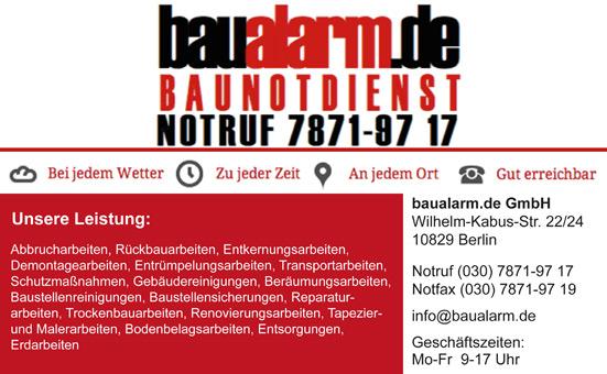 Bild 1 baualarm.de GmbH in Berlin