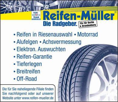Bild 1 Reifen-M�ller, Georg M�ller GmbH & Co. KG in Berlin