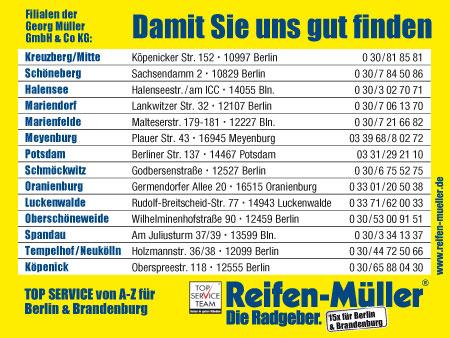 Bild 2 Reifen-M�ller, Georg M�ller GmbH & Co. KG in Berlin