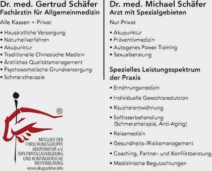 Bild 1 Sch�fer, Gertrud, Dr. med. und Dr. med. Michael Sch�fer in Berlin