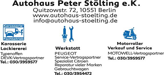 Bild 1 Autohaus St�lting e.K. in Berlin