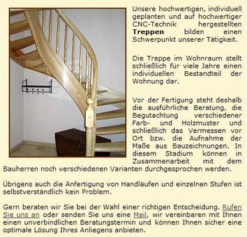 Bild 1 Breiert, Thomas - Tischlerei & Treppenbau in Beeskow