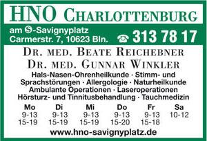 Bild 1 Reichebner, Beate, Dr. med. und Dr. med. Gunnar Winkler in Berlin
