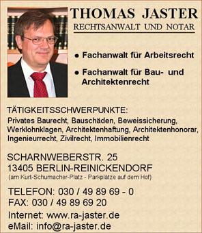 Bild 1 Jaster in Berlin-Reinickendorf