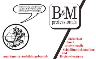 B&M professionals Gesellschaft für Schädlingsbekämpfung und Hygieneberatung mbH