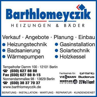 Bild 2 Barthlomeyczik Heizungen & B�der GmbH in Berlin