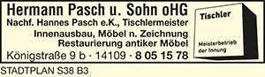 Bild 1 Hermann Pasch & Sohn oHG Nachf. Hannes Pasch e. K. in Berlin