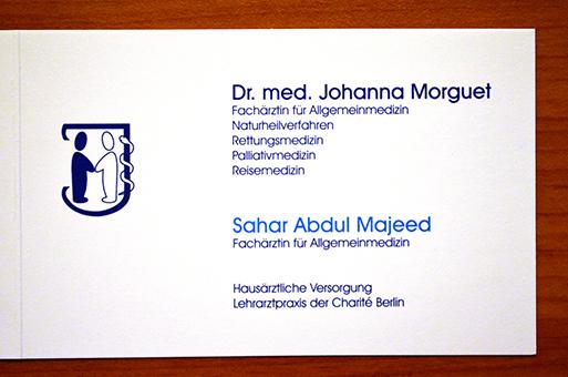 Bild 1 Morguet, Johanna, Dr.med. und Sahar Abdul-Majeed in Berlin-Wilmersdorf