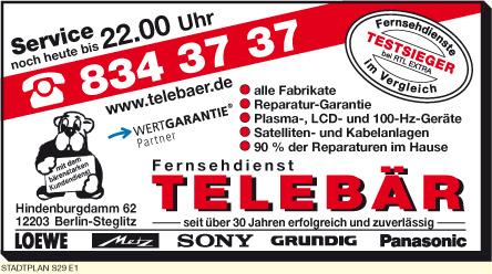 Fernsehdienst Telebär