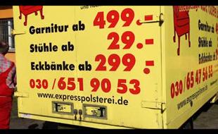 Express Polsterei GmbH Mathan und Ritter