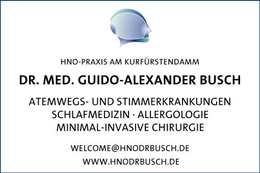 Bild 1 Busch, Guido-Alexander, Dr. med. in Berlin