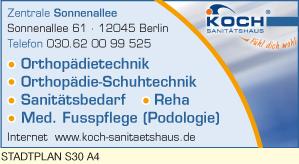 Bild 1 Koch Sanit�tshaus GmbH in Berlin