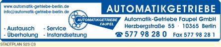 Bild 1 Automatik-Getriebe Faupel GmbH in Berlin