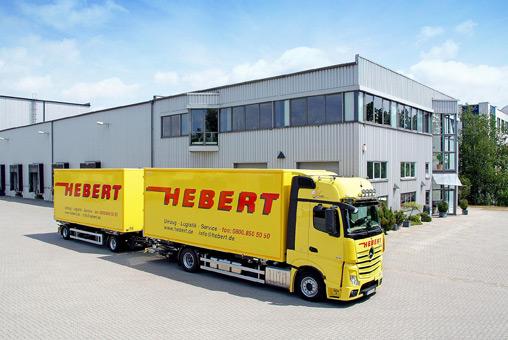 Bild 1 Hebert GmbH + Co Intern. Möbelspedition KG in Großbeeren