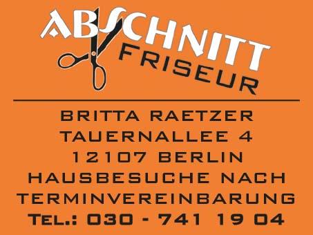 Bild 1 Abschnitt Britta Raetzer in Berlin