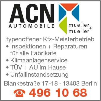 Bild 1 ACN Automobile Mueller + Mueller GbR in Berlin