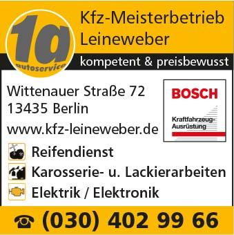 Bild 1 1A Kfz-Meisterbetrieb Leineweber in Berlin