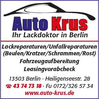 Bild 1 Auto Krus in Berlin